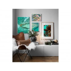"""Set posters """"Turquoise"""""""