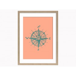 "Framed Poster ""Nautical"""