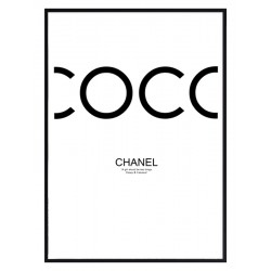 """Framed Poster """"COCO"""""""