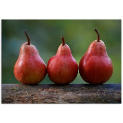 """Poster """"Red pear"""""""