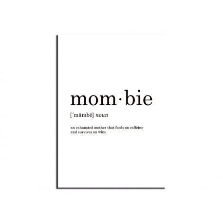 """Poster """"Mombie"""""""