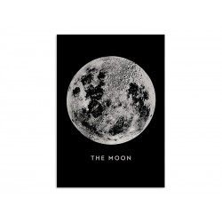 """Poster """"The moon"""""""