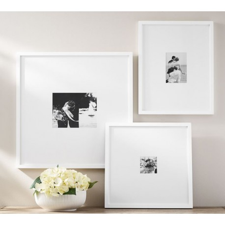 """Set of frames """"Family White"""" wood"""
