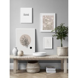 """Set posters in rame """"Home Sweet Home"""""""