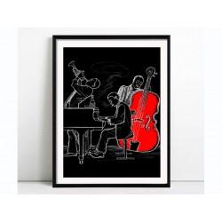 "Poster ""Jazz"""