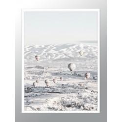 """Poster """"Hot Air Balloon Ride Over Cappadocia"""""""