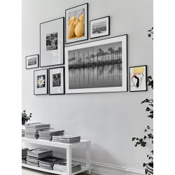 """Set posters in rame """"Yellow pear"""""""