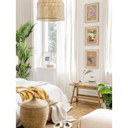 """Set posters in rame """"Orchid"""""""