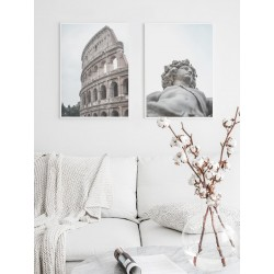 """Set posters in rame """"Rome"""""""