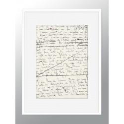 "Framed Poster ""Kafka"""