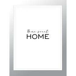 "Framed Poster ""Home Sweet Home"""
