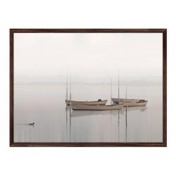"Framed Poster ""Boat"""