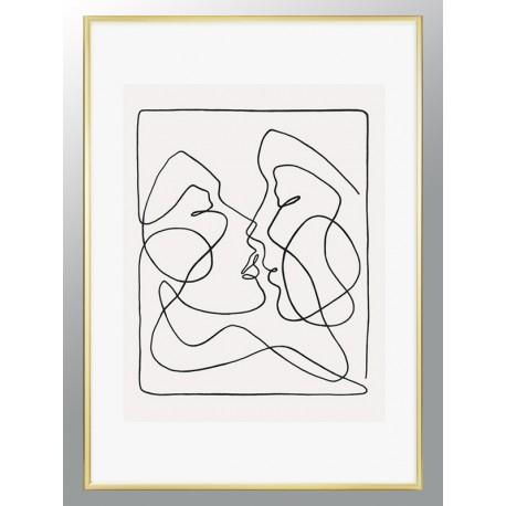"""Framed Poster """"Pair"""""""