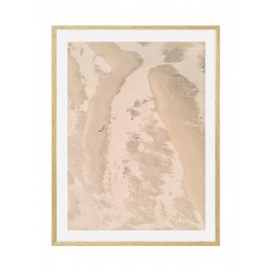 """Framed Poster """"Land"""""""