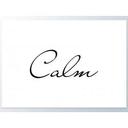 "Poster ""Calm"""