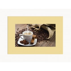 """Passe-partout """"White coffee"""""""