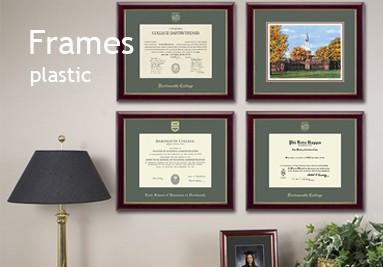 Plastic frames